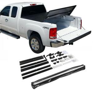 Fit-2014-2018-Chevy-Silverado-5-8ft-Bed-Tri-Fold-Soft-Tonneau-Cover-Assemble