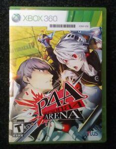 Persona-4-Arena-P4A-Microsoft-Xbox-360-Complete-Tested-Rare