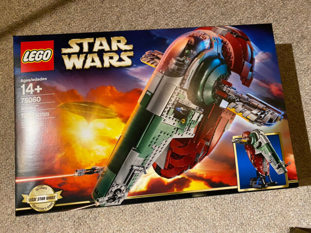 LEGO Star Wars UCS SLAVE 1 Boba Fett 75060 Ultimate Collector Series I One - NEW