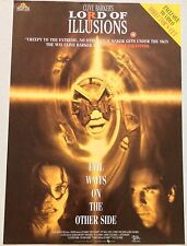 LORD OF ILLUSIONS / ORIGINAL VIDEO FILM POSTER / CLIVE BARKER / VINTAGE MOVIE 1