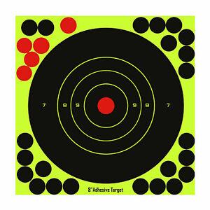 GunTuff-8-034-8-Inch-Splatter-Target-Shoot-And-C-Airgun-Rifle-Pistol-Adhesive