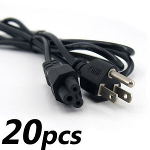 Lot of 20 6ft Mickey Mouse AC Power Cord Laptop Notebook 3 Prong