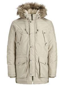 fluente inimicarsi verde  Jack & Jones Originals Parka Jacket Mens Classic Winter Parker Coat  JORExplore | eBay