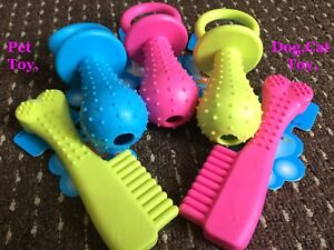 PET-DOG-CAT-PUPPY-TOY-TEETHING-TOUGH-CHEW-TOYS-BONE-PACIFIERS-GUM-DENTAL-HEALTH