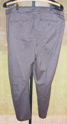 20 Herring taglia con poliestere Pantaloni Lane misto Bryant Manca in Brown Nwt Medio osso q7PSYzP
