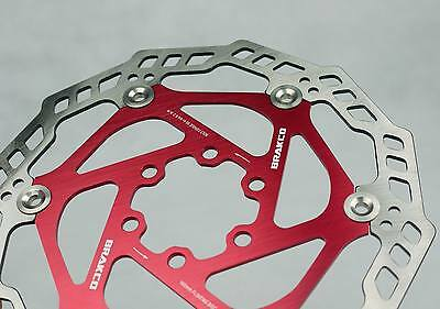 FLOATING DISC BRAKE ROTOR JAPAN STAINLESS STEEL SUIT AVID SHIMANO HAYES RED