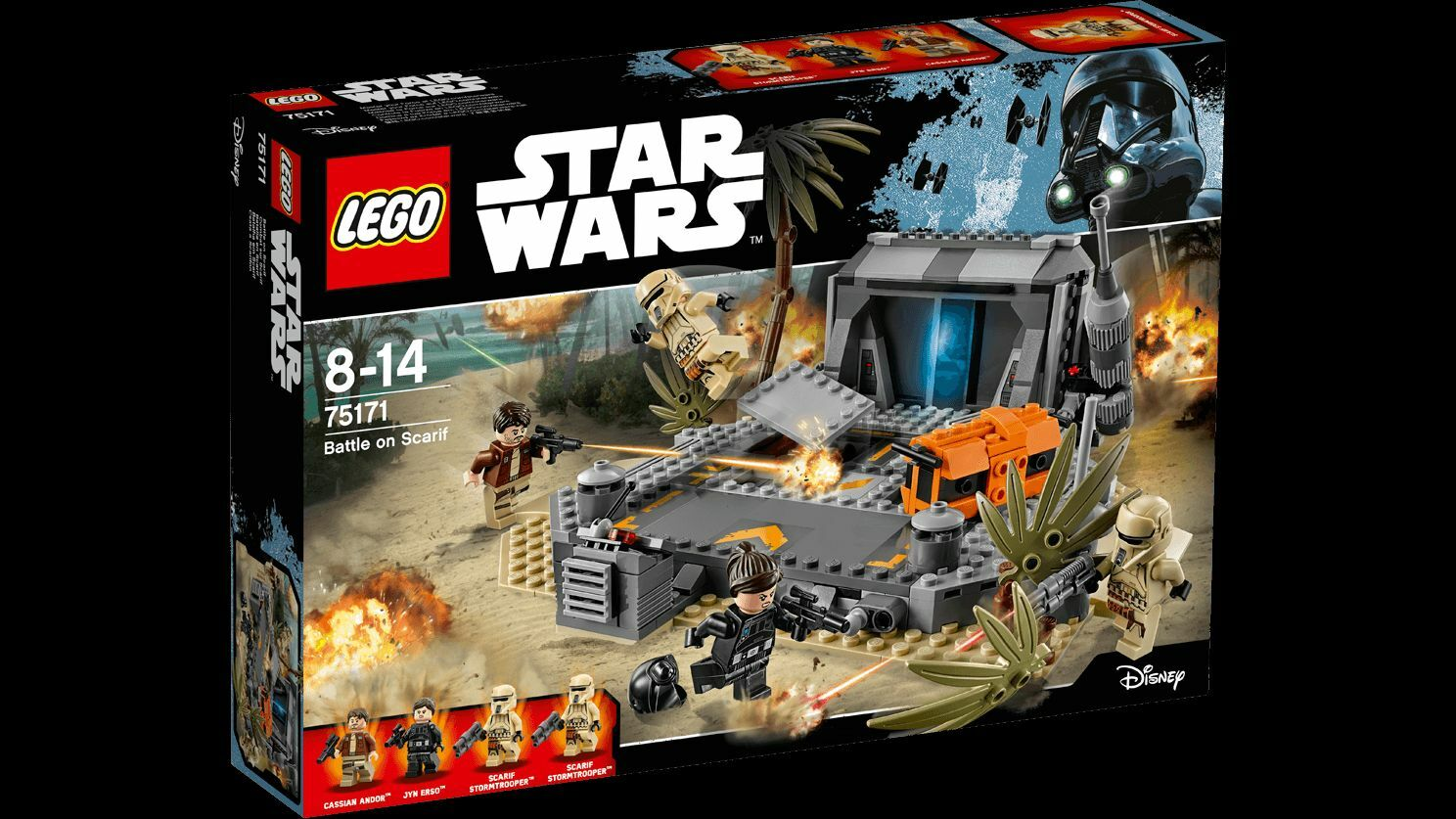 LEGO 75171 Battle on Scarif - STAR WARS 8-14anni | Soldes