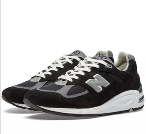 competitive price 6887f 6bd31 Image is loading M990BK2-NEW-BALANCE-MEN-990V2-HERITAGE-MADE-IN-