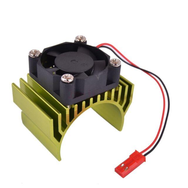 716L Green 540 550 ELECTRIC Motor Heat Sink & Fan RC 1/10 HSP Himoto Car part