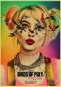Birds Of Prey Movie 2020 Harley Quinn Character Poster Hd Print Wall Decoration Ebay