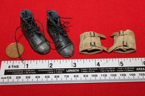 DID Dragon In Dreams 1:6TH échelle WW2 British Airborne boots /& guêtres Charlie un