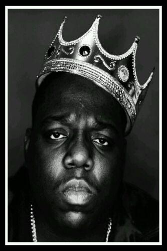 B211 Notorious B.I.G Biggie Smalls Rap Hip Hop  Poster Wall  Canvas custom 24x36