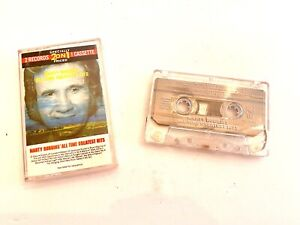 MARTY ROBBINS All-Time Greatest Hits 1972 CASSETTE TAPE Columbia 2 On 1