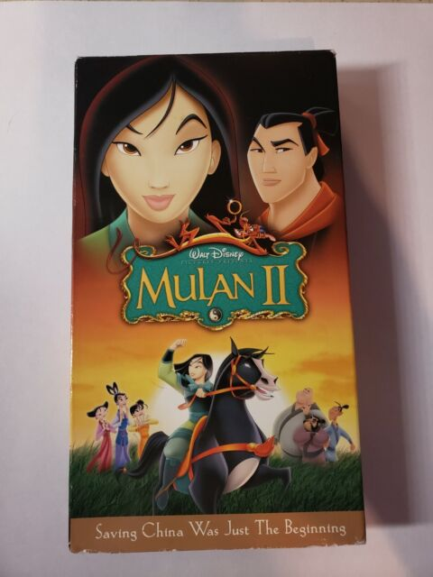 Walt Disney's Mulan II (VHS, 2005)