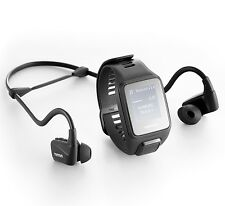TomTom Spark 3 Cardio GPS watch large size + HRM + 3GB Music + BT Headphones