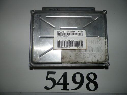 03 04 ALERO SILHOUETTE 03 GRAND PRIX MALIBU COMPUTER BRAIN ENGINE CONTROL ECM