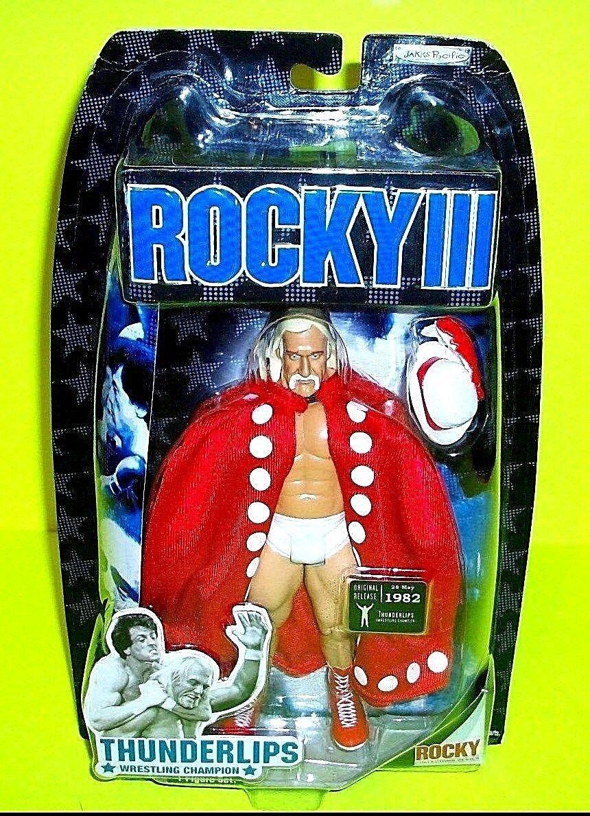 Jakks Pacific Rocky Balboa Iii thuderlips Hulk Hogan Película Figura de Acción 2007