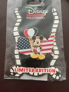 Disney-Mickey-Mouse-Patriotic-4th-of-July-LE150-Surprise-Pin-DSF-DSSH-USA-States