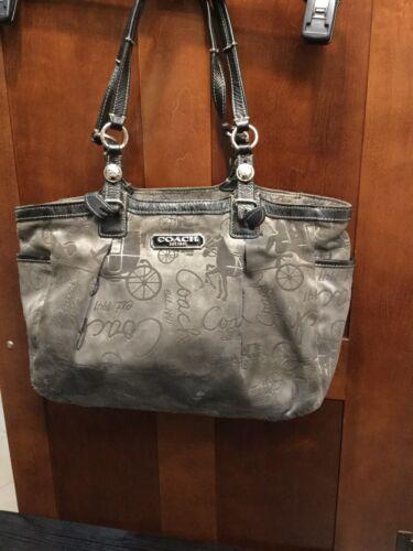 Authentic Rare Vintage Coach Handbag Purse