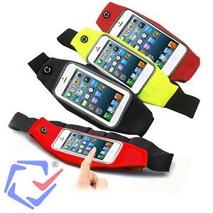 Maclean-Marsupio-Sport-Custodia-Smartphone-Impermeabile-da-Cintura-Vari-Colori