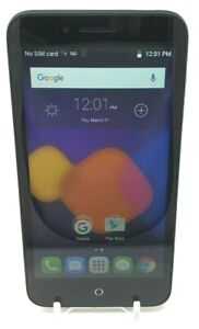Alcatel Onetouch Conquest 7046T ( FreedomPop) 8GB Android Smart Phone Black