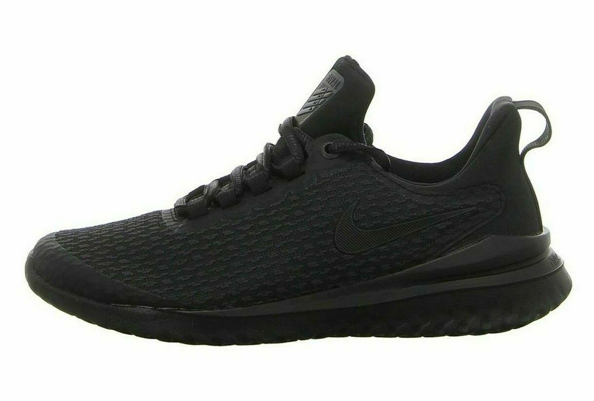 NEW Men's Nike Rival Running shoes Black Anthracite AA7411-002 Size 7.5