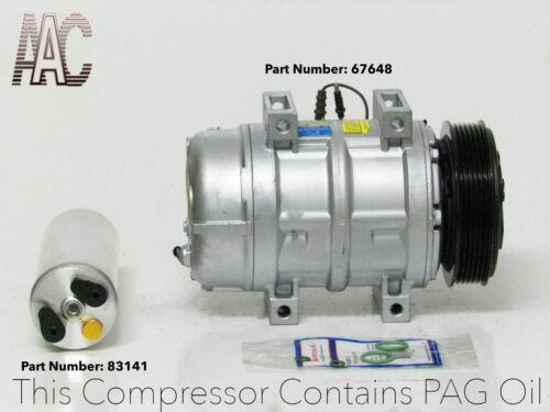 99-01 Volvo S80 01-02 Volvo V70 A//C compressor Kit W// warranty. 01 Volvo S60