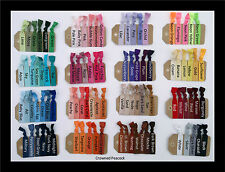 U PICK 20 COLORS Yoga Elastic Hair Ties - No Bump Tug Assorted No bump bands