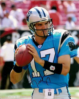 Football Autographs-original Lower Price with Jake Delhomme Carolina Signed 8x10 Photo W/coa & Proof Latest Technology
