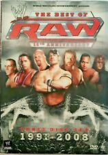 Wwe The Best Of Raw 3 Disc Set 1993 2008 Wrestling Dvd 15th Anniversary For Sale Online Ebay
