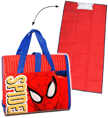 """150 cm /"""" Spider-Man /"""" Strandunterlage 75 cm gepolsterte /_ Strandmatte"""