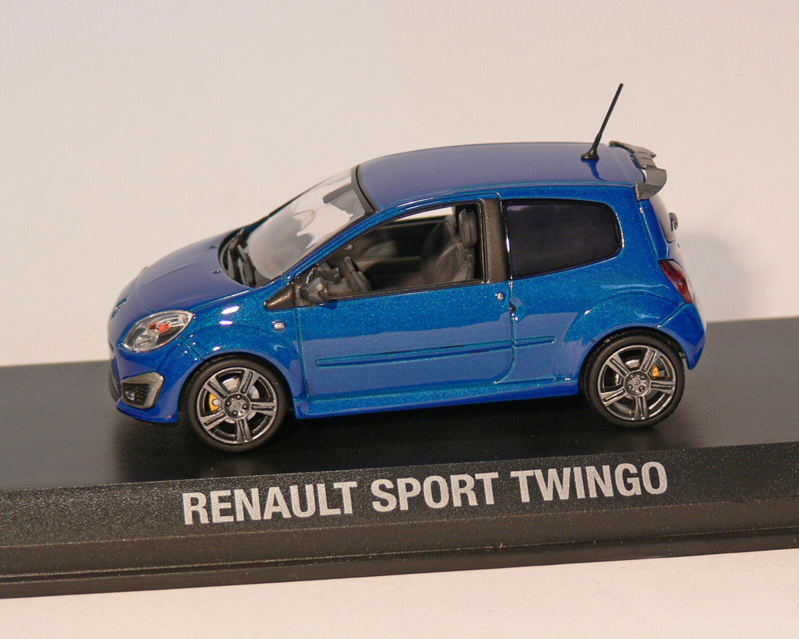 Renault twingo rs 2008, sport, Bleu-met. NOREV, 1 43