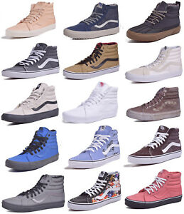 51b969ca8c Vans Sk8 Hi Classic Skateboard Shoes Men Women Choose Colors   Sizes ...