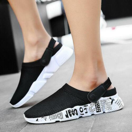 Mens Shoes Garden Clogs Sandal Slippers Water Shoes Summer Breathable Sneakers