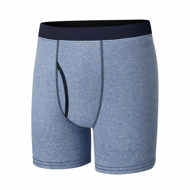 Blues /& Grays Hanes Boys Boxer Briefs 6 Pack Size M – New // Sealed 10-12