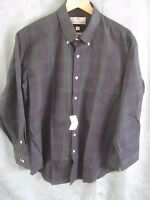 Etienne Aigner Blackwatch Plaid Dress Shirt Size 16.5 32/33