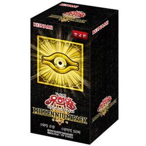 Yu-Gi-Oh-Cards-034-Millennium-Pack-034-Booster-Box-20-Packs-Korean-Version-yugioh