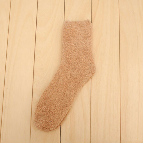 Extremely Cozy Cashmere Socks Women Men Winter Warm Sleep Bed Floor Home Fluffy