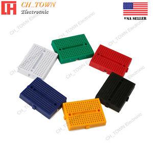 6-un-6-Colores-Mini-Breadboard-SYB-170-170Tie-puntos-sin-soldadura-placa-de-prototipos