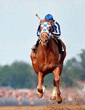 SECRETARIAT 1973 KENTUCKY DERBY WINNER RON TURCOTTE 8X10 PHOTO