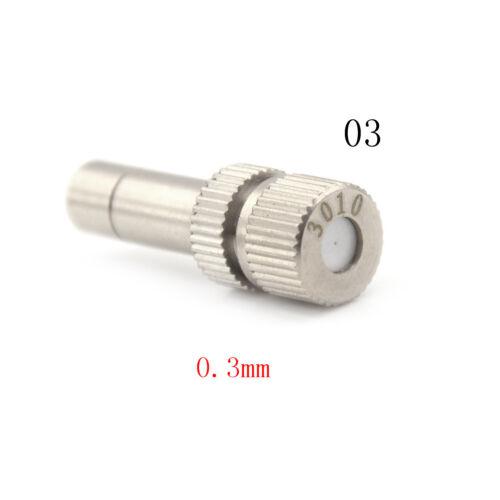 Metal Low-pressure Atomizing Misting Nozzle Spray Injector Atomization Head JB