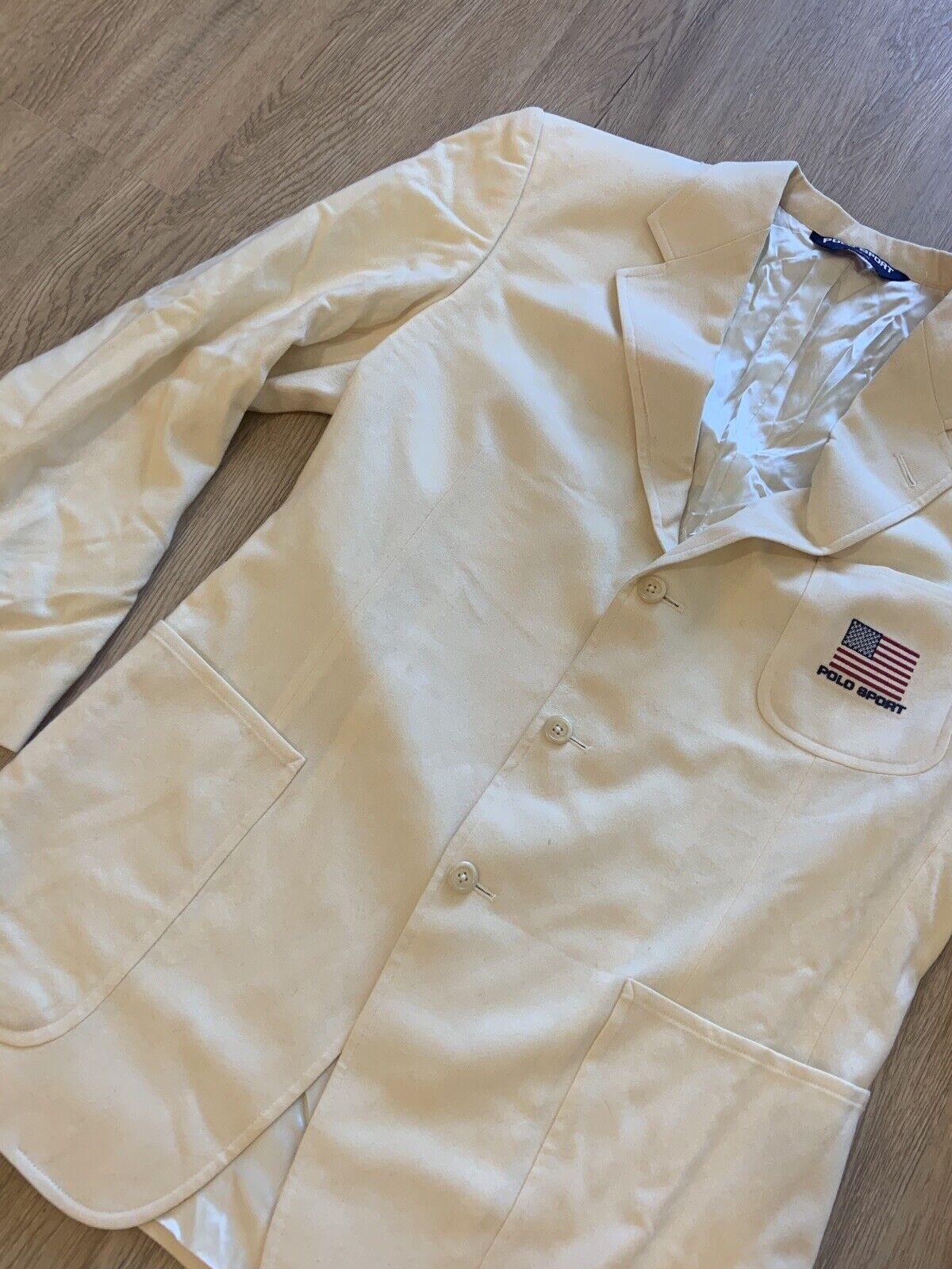 Vintage Polo Sport Sport Jacket - image 3