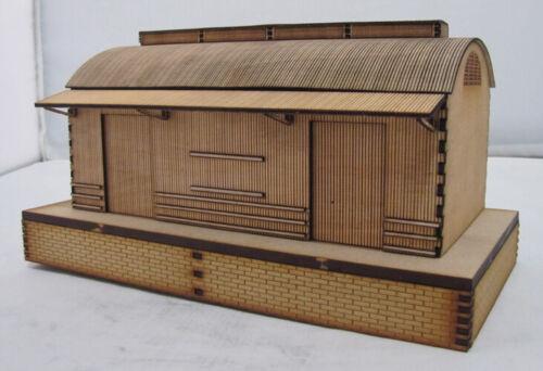 """SM1049 Laser Cut /""""Tanunda Goods Shed/"""" Trackside Models HO Scale"""