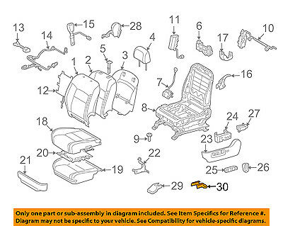 TOYOTA 72138-47040-G0 Seat Track Outer Cover