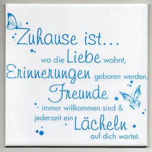 Dekofliese-Wandbild-Bildfliese-Zuhause-ist-059DP-Handarbeit-15x15cm