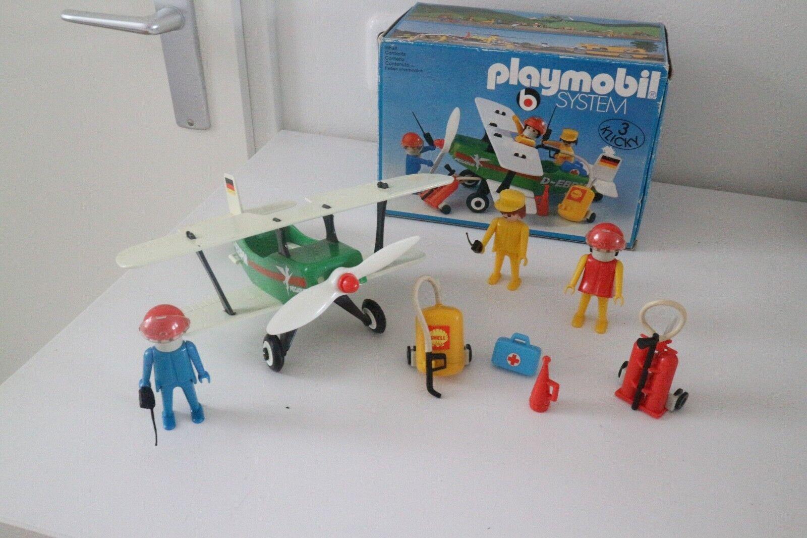 Playmobil 3246 ovp vintage avion, air plane, vliegtuig, Flugzeug, aereo