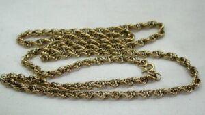 Nice-Quality-Heavy-9-Carat-Rope-Twist-Neckchain