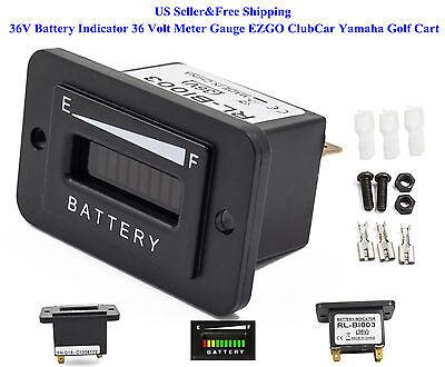 US 36V Battery Indicator 36 Volt EZGO ClubCar Yamaha Golf ...