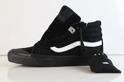 Vans ALYX OG Style 138 LX Back Black Canvas Suede VN0A3DP90K6 6 8.5 syndidate | eBay