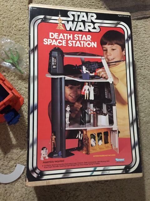 Vintage 1977 Star Wars Death Star Space Station Incomplete in Original Box Please Read The Description